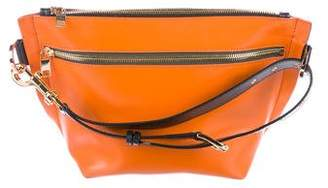 Sacai Belted Leather Clutch
