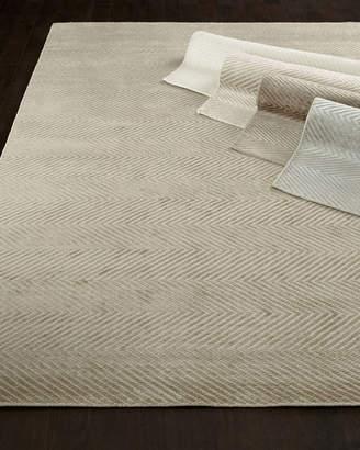 Exquisite Rugs Mistie Herringbone Rug, 6' x 9'