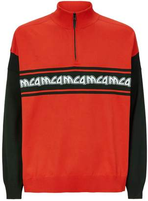 McQ Logo Zipped Sweatshirt