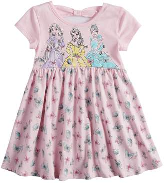Disneyjumping Beans Disney's Belle, Cinderella & Rapunzel Toddler Girl Babydoll dress by Jumping Beans