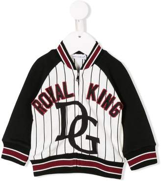 Dolce & Gabbana baseball bomber jacket