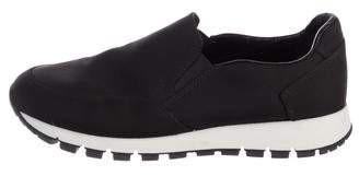 Prada Sport Round-Toe Slip-On Sneakers