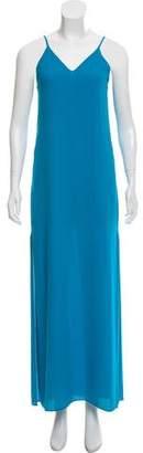 Alice + Olivia Sleeveless Maxi Slip Dress