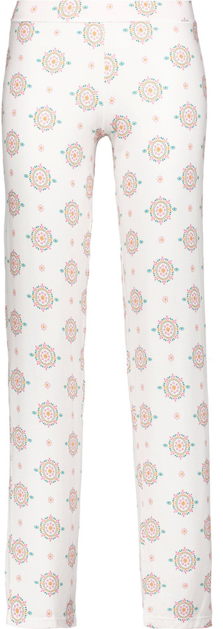 CosabellaCosabella Medallion printed stretch-jersey pajama pants