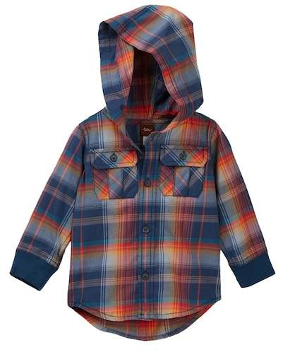Cooper Button Baby Hoodie (Baby Boys)