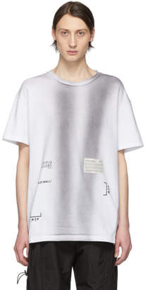 A-Cold-Wall* A Cold Wall* SSENSE Exclusive White Crewneck T-Shirt