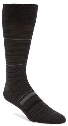John W. Nordstrom R) Thin Pop Stripe Socks