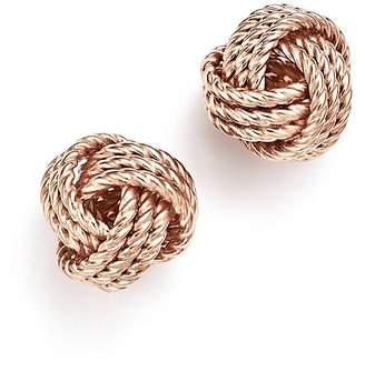 Bloomingdale's 14K Rose Gold Love Knot Earrings