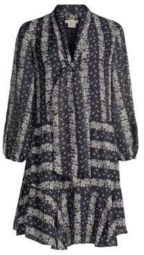 Shoshanna Holley Floral Shift Dress