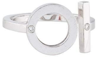 Hermes 18K Diamond Ring