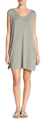 Como Vintage Slouchy Pocket Shift Dress (Petite)
