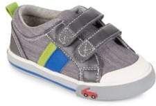 See Kai Run Baby's, Toddler's& Kid's Russell Sneakers - Grey - Size 7 (Baby)