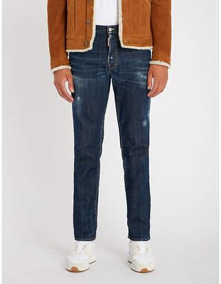 DSQUARED2 Distressed slim-fit denim jeans
