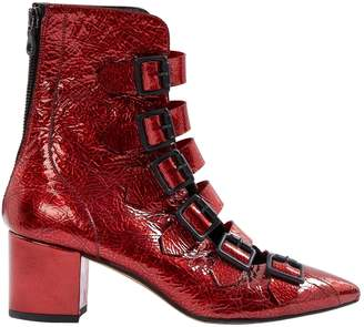 Lala Berlin Patent leather ankle boots