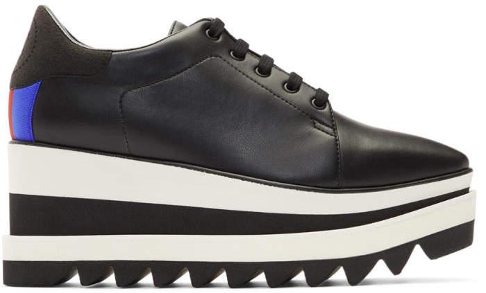 Stella McCartney Black Sneak-Elyse Sneakers