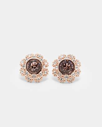 Ted Baker SERAA Swarovski daisy lace stud earrings