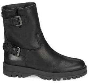 Prada Moto Buckle Boots
