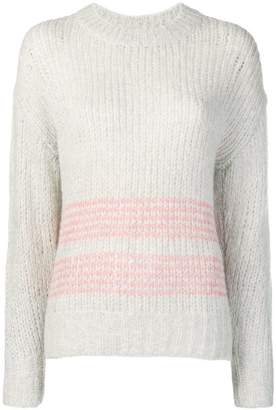 Rag & Bone striped chunky sweater