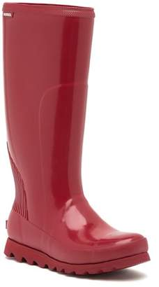 Sorel Joan Tall Gloss Waterproof Rain Boot