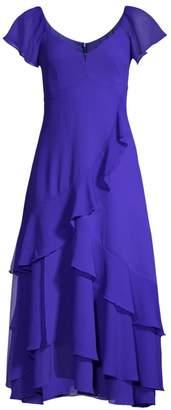 Nanette Lepore Flutter Midi Dress