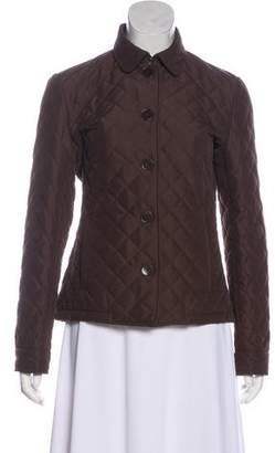 Ralph Lauren Black Label Quilted Button-Up Jacket