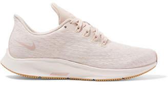 Nike Air Zoom Pegasus 35 Premium Mesh Sneakers - Cream