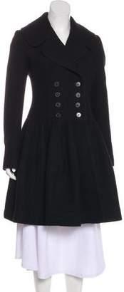 Alaia Cashmere & Wool Blend-Coat
