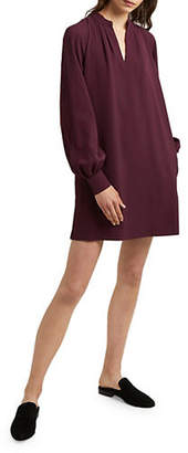 French Connection Long-Sleeve Shift Dress