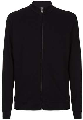 HUGO BOSS Half Zip Knit Sweater
