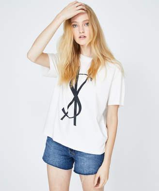 Ksubi Fancy Dollar T-Shirt Butter Beige