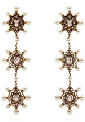 Gucci Pearl drop earings