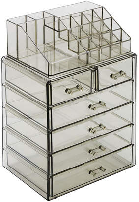 Sorbus Cosmetic Makeup and Jewelry Storage Case Medium Display Sets - 4 Large 2 Small Drawers + Top