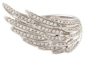 As 29 AS29 18K Diamond Wing Ring