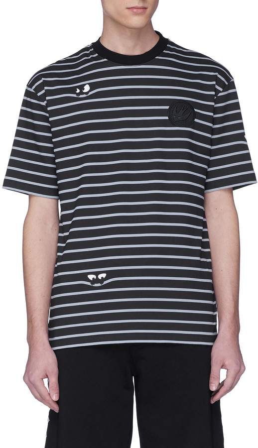 McQ Alexander McQueen Monster stripe T-shirt
