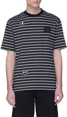 McQ Monster stripe T-shirt