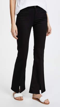 MiH Jeans Marrakesh Sneaker Split Flare Jeans
