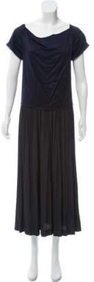 Cacharel Short Sleeve Midi Dress