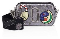 Marc Jacobs Marc Jacobs Night & Day Snapshot Leather Crossbody Bag