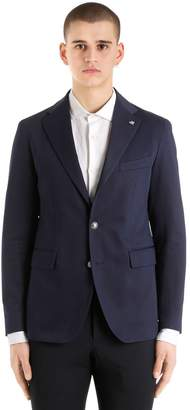 Tagliatore Cotton Gabardine Jacket