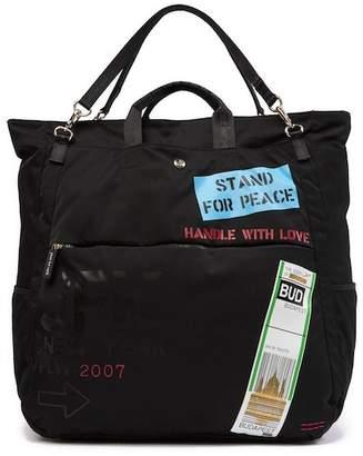 Peace Love World North South Duffel Bag