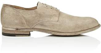 Officine Creative Men's Washed Suede Bluchers
