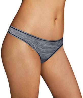 Maidenform Sport Microfiber Thong Panty Mspthg