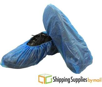 Shield Safety 8000 PCS Boot Covers Plastic Disposable Shoe Covers Overshoes Medical Waterproof