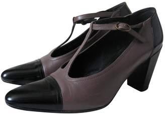 Clergerie Brown Leather Heels