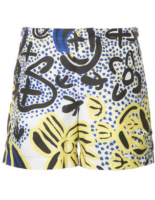 Orlebar Brown printed swim shorts $315 thestylecure.com