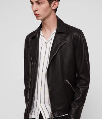 AllSaints Ezra Leather Biker Jacket