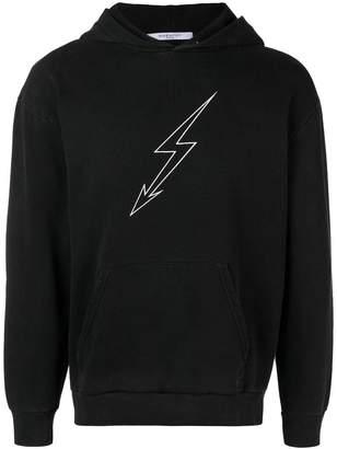 Givenchy lightning bolt world tour hoodie