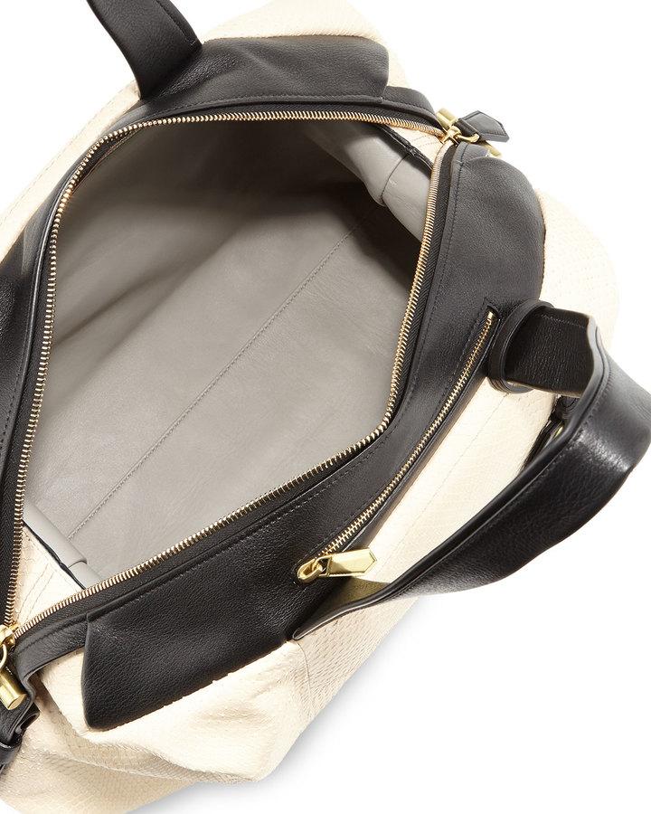 Reed Krakoff Atlas Python Satchel Bag