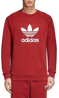 adidas Trefoil Crewneck Sweatshirt