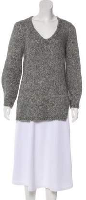 Soyer V-Neck Knit Sweater